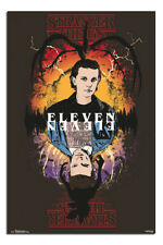 LAMINATED Stranger Things Eleven Poster Official Licensed 24x36"