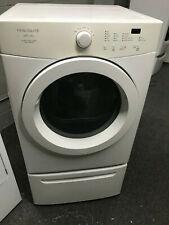 Frigidaire Affinity Electric Front Load Dryer w/ Pedestal, Model #Faqg7111Lw1