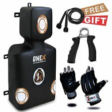 Uper Cut Wall Dummy Punching Pad Training Wall Bag MMA Kick Boxing Pad GlovesPro