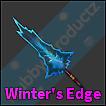 Roblox Murder Mystery 2 MM2 Winter's Edge Godly Knife Read Desc