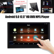 "12.5"" LCD Touch Screen Car HD 1080P Headrest DVD Player Monitor Bluetooth USB SD"