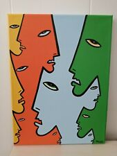 original artwork abstract/modern/contemporary acrylic pop painting on canvas