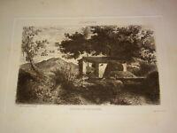 A. BALFOURIER (1816-1876) Gravure ORIGINALE CARTAGENA MURCIA ESPAGNE ESPAÑA 1850