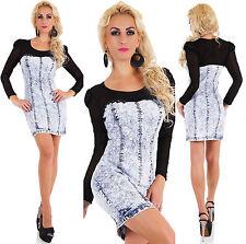 Knielange Damenkleider aus Baumwolle