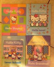 Hello Kitty Set Of 4 Books Loves School, Visits Grandma, Hello Love & Shapes
