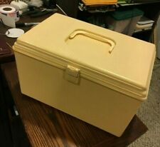 Sewing Box Case with Tray Plastic