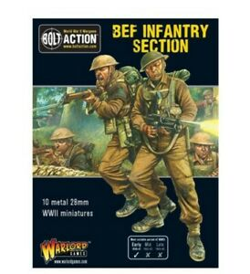 Warlord Games BEF squad IN STOCK