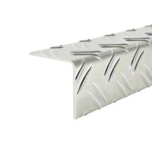 Alu Riffelblech Winkelblech Warzenblech Tränenblech 2,5/4,0 mm gleichschenklig