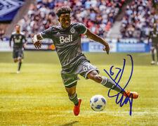 Alphonso Davies Signed Vancouver Whitecaps 8x10 Photo D PROOF COA Bayern Munich