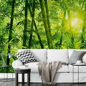 Bamboo Forest Bedroom wallpaper mural 102x151in HxW