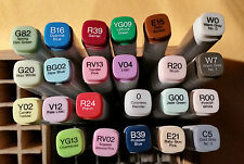 Copic Marker verschiedene Farben 23 Stück