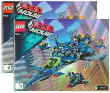 Lego Instruction Manuel only for Set 70816 Benny's Spaceship Booklet *NO SET*