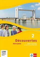Découvertes Série jaune 2. Cahier d'activités mit MP3-CD und Video-DVD NEU