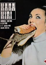 Rivista Umoristica Cultura KARA KIRI Cretino&Cattivo 1969 n.5 francois cavanna