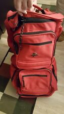 Atlantic 6-pocket Red Duffel Bag