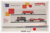 Märklin 44504 Güterwagen-Set Cargo der DB AG 3-teilig #NEU in OVP#