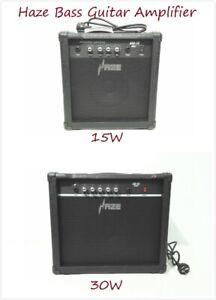 Haze 15W,30W Acoustic Bass/Electric Bass Guitar Amplifiers,Combo Amplifier,Black
