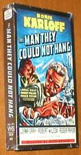 The Man They Could Not Hang ~ Boris Karloff, Lorna Gray, Roger Pryor - VHS, New