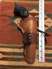 Uberti Stallion Chiappa Pietta EMF 1873 22 Cal 5.5 Tooled Cowboy Leather Holster