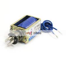 H● 1 Pcs XRN 1250 DC 24V Pull Type 10 mm 50 N Open Frame Solenoid Electromag n