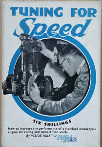 Tuning For Speed Phil Irving Vincent Manx Norton Motorcycles 2nd ed Book Manual