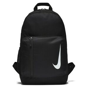 Nike Backpack Rucksack School Bag Black Gym Sports Unisex Travel Holiday