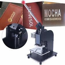 New Manual Hot Foil Stamping Machine Tipper Bronzing Letterpress Printer Ac110v