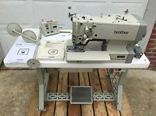 Brother He 800a 2 Electronic Button Hole Machine