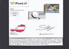 SOS Kinderdorf Tischtennis Werner Schlager Ersttag 2003