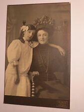 Bregenz - 1909-la Sra. chicas & en el vestido-Anny Tobler o tabler?/kab