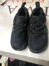 Nike Little Presto Toddlers 844767-003 Black Athletic  Shoes Baby Kids 10c Grea
