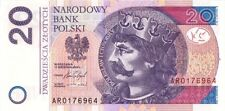POLAND,2016.20 ZLOTYCH,P-184,UNCIRCULATED (R)