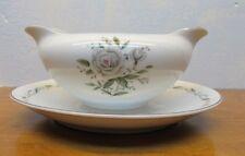 made in Japan vintage China romance diamond pattern gravy boat