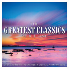 Various GREATEST CLASSICS OF ALL TIME Best Of 53 Classical Songs NEW SEALED 3 CD