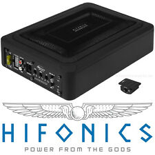 HIFONICS MRX-168A aktiv Untersitz-Subwoofer Auto Bassreflex Aktivsub 200 Watt