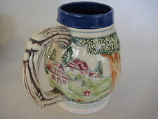 """Vintage Hand Painted Art Porcelain/Pottery Beer Stein, """"Specially For Jack"""""""