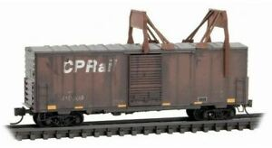 Micro-Trains MTL Z-Scale Canadian Pacific/CP Rail Ice Breaker Weathered #410009
