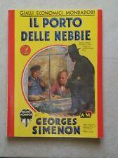 IL PORTO DELLE NEBBIE - (ristampa anastatica) di Simenon -