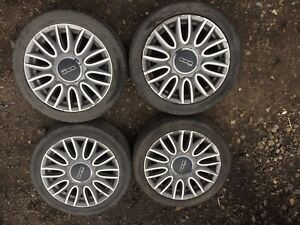 Fiat 500 Set Of 4 Alloy Wheel And Tyre R16 2008/2019