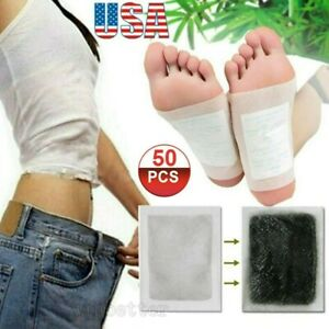 Detox Foot Pads Nulbu Detoxify Toxins Fit Health Care Patch Cleanse Adhesive Tap