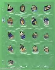 #T11. CANTERBURY BULLDOGS RUGBY LEAGUE CLUB MEMBER BADGES 1966 to 1982