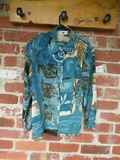 Women's Motto long sleeve button down blouse size 8