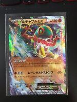 Hawluncha EX 038/XY-P Mega Lucario Fighting Promo - Holo Japanese Pokemon Card