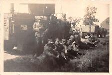 Rast Soldaten an der Feldküche bei Königsbrück Sachsen