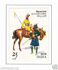 PHILA776 INDIA 1978 SKINNER HORSE CAVALRY REGIMENT MNH