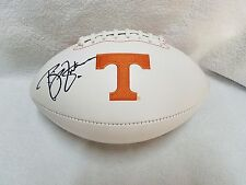 PHILLIP FULMER TENNESSEE VOLS SIGNED LOGO FOOTBALL W/COA