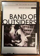 Band of Outsiders DVD Criterion Collection Jean-Luc Godard Anna Karina