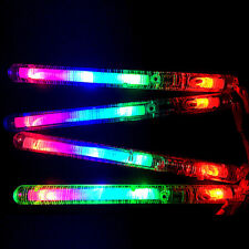 Light-Up Strobe Sticks Flashing Wands LED Glow Blinking Rave Party EDC