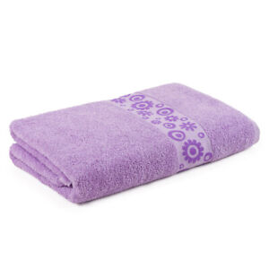 Floral Jacquard Bath Sheet-3287BS