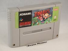 ZOMBIES - SUPER NINTENDO SNES SUPER NES 16 BIT PAL NOE CARTUCCIA LOOSE ORIGINALE